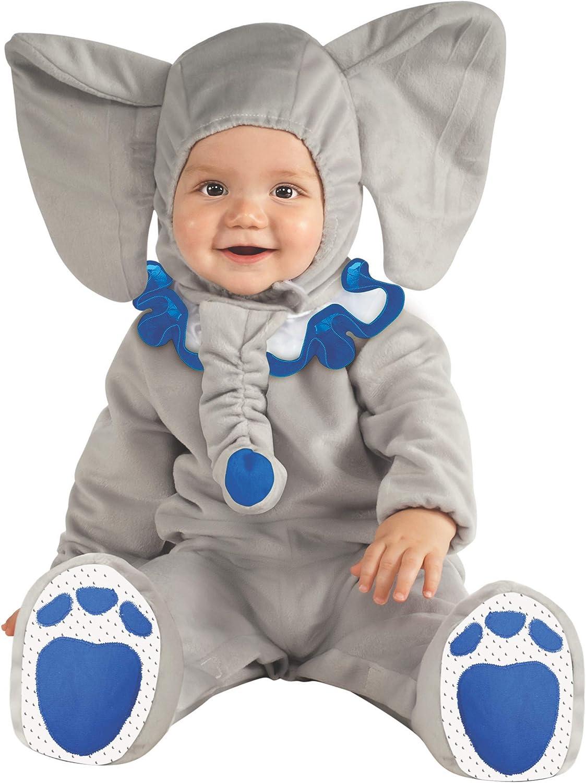 Rubies - Disfraz de elefante para bebé, 12-18 meses (881527T ...