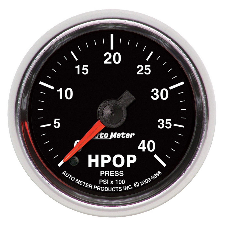 """85%OFF Auto Meter 3896 GS 2"""" 0-4000 PSI Diesel HPOP Pressure"""