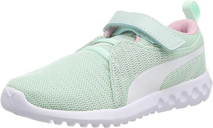 Puma Carson 2 V PS Sneakers Jungen Mädchen Unisex Kinder Grün (Fair Aqua)