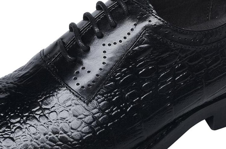 Mode Schuhe Herren Lederschuhe Herrenbekleidung Schnürsenkel Kleid Schuhe Mode Einzelne Schuhe schwarz 5e9753