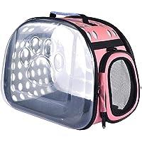 ZPNBKLS Plecak dla zwierząt domowych, torba na koci składana na zewnątrz podróż kotek kotek plecak mały zwierzak torba…