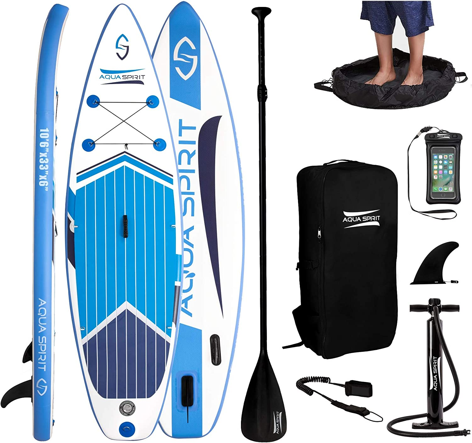 """Surfica Paddleboard Bag 10'6"""" Brand New In Box"""