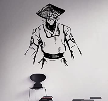 Raiden Wall Vinyl Decal Mortal Kombat Sticker Fighting Games Home Interior Living Room Removable Decor