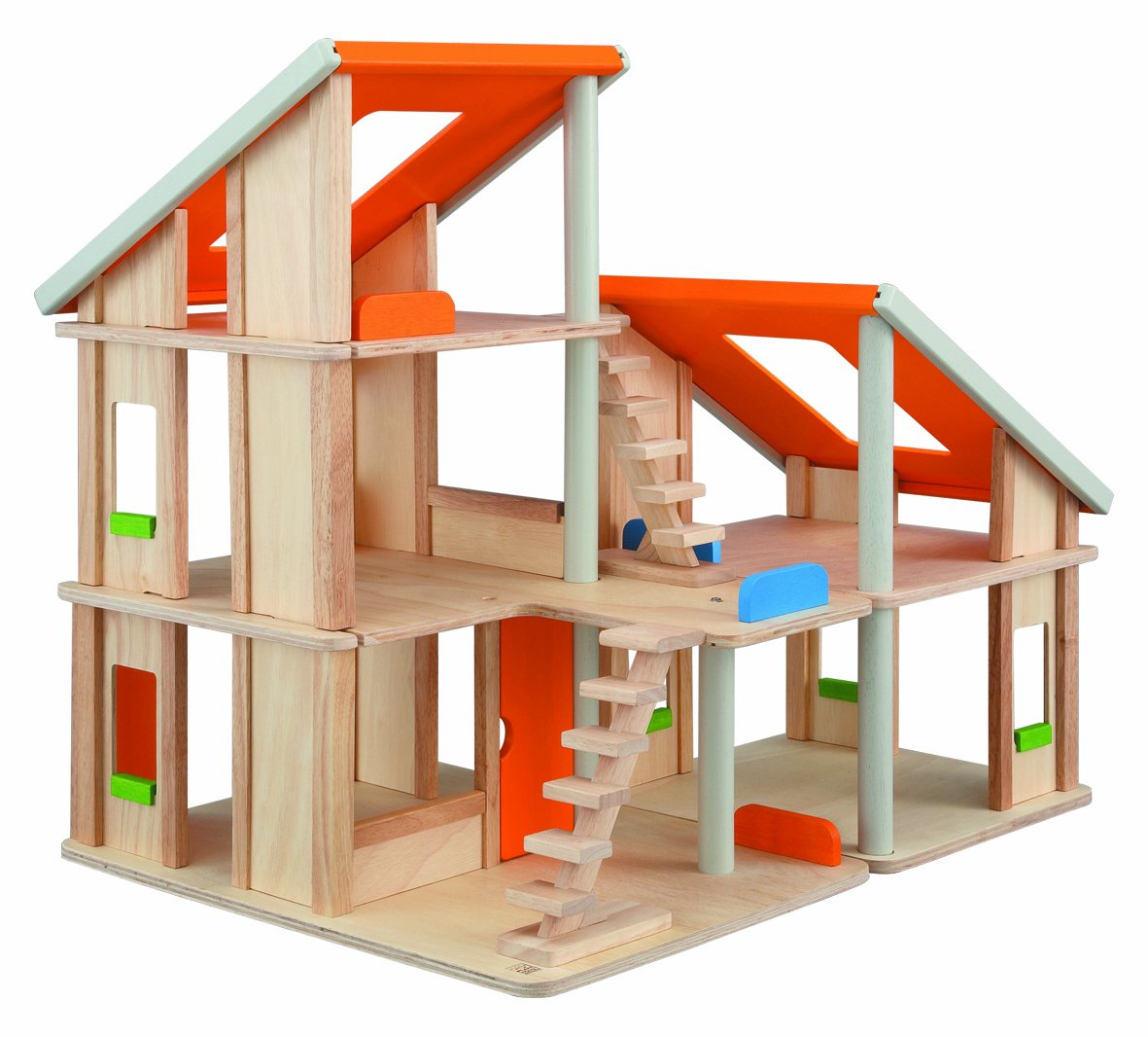 amazoncom plantoys chalet dollhouse toys  games -