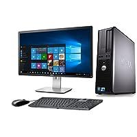 """DELL OPTIPLEX 780 DESKTOP CORE 2 QUAD 2.4GHZ 4GB 160GB 22"""" MONITOR WINDOWS 10 64BIT (Certified Refurbished)"""