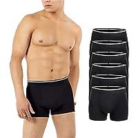ZENAPHYR 6 Boxers para Hombres - 95% Algodon, 5% Licra - Ropa Interior Hombre - Certificado Oeko-Tex - Respirable y…