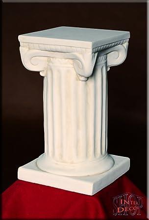 Säule Blumensäule Dekosäule Antik Griechische Säulen Podest Stuckgips