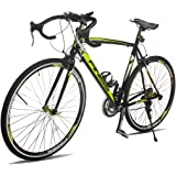 Merax Finiss Aluminum Road Bike 21 Speed 700C Racing Bicycle Shimano