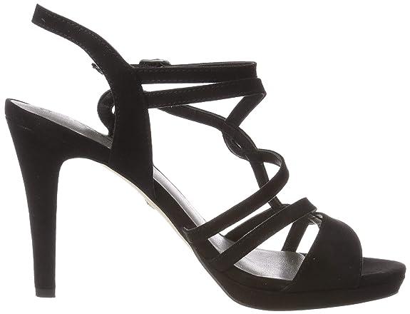 Tamaris Women's 1 1 28001 22 004 Ankle Strap Sandals: Amazon