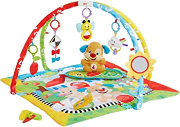 Fisher-Price Gimnasio aprendizaje de perrito Mattel FBD48 manta de juego beb/é