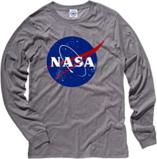 product image for Hank Player U.S.A. Official NASA Logo Men's Long Sleeve T-Shirt