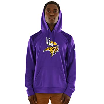 27bd24a49 Minnesota Vikings Majestic NFL  quot Armor 3 quot  Men s Pullover Hooded  Sweatshirt