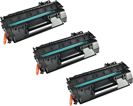 Compatible 05A CE505D Laser Printer Cartridge use for HP Laserjet Pro P2035 P2035n Printer High Yield Black 3 Pack