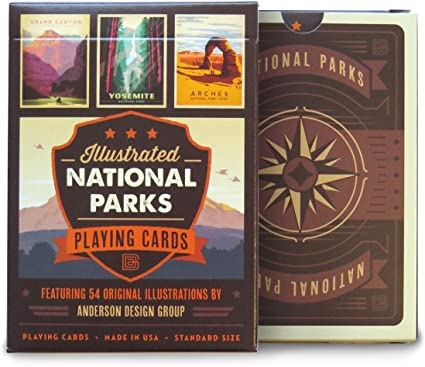Brown Deck Keymaster Games Parks Playing Cards