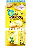 不二家 夏のうすやきカントリーマアム(レモンチーズケーキ) 10枚×5袋