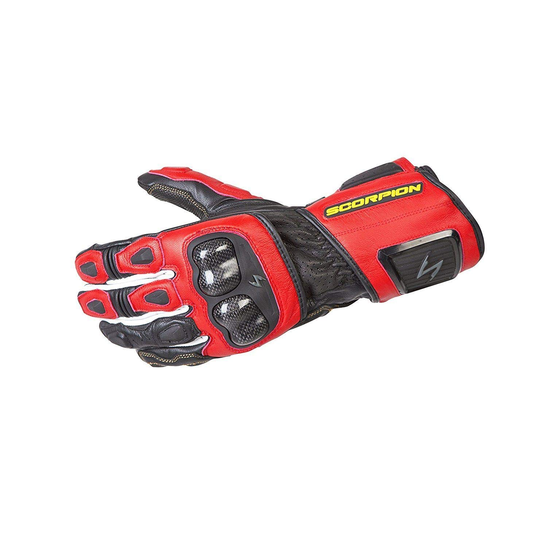 ScorpionExo G29-055 SG3 MKII Men's Long Gauntlet Sport Gloves (Red, Large)