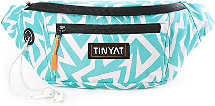 Fanny Pack / Travel Waist Bag with Adjustable Strap