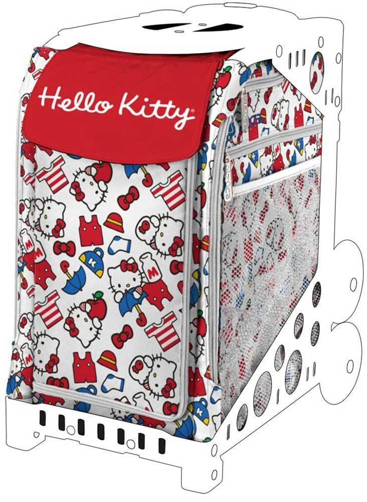 ZUCA Hello Kitty Sport Insert Bags (Frames Sold Separately) - Choose Your Design! (Say Hello)