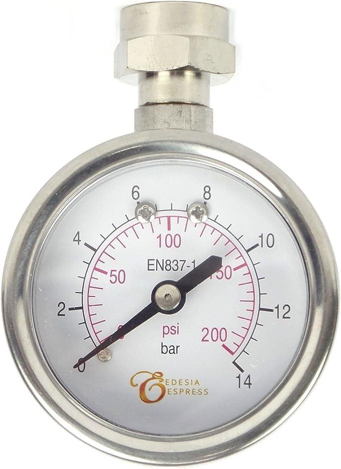 EDESIA ESPRESS - Manómetro para portafiltros de cafetera exprés ...