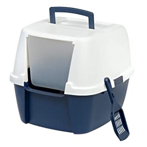 IRIS Jumbo Litter Box with Litter Scoop