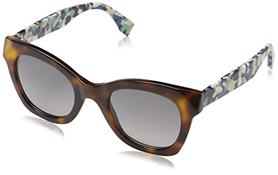 0ef820437c9 Image Unavailable. Image not available for. Color  Fendi Womens Women s Ff  0204 S 52Mm Sunglasses