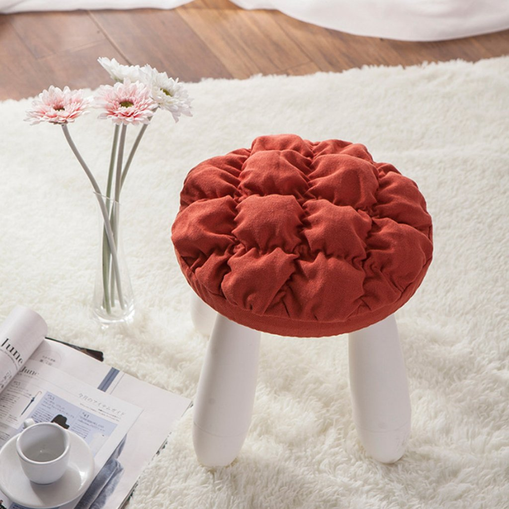 Homyl 4Pieces 11''-12'' Bar Stool Covers Round Wood Chair Seat Cover Sleeve Slipcover by Homyl (Image #7)