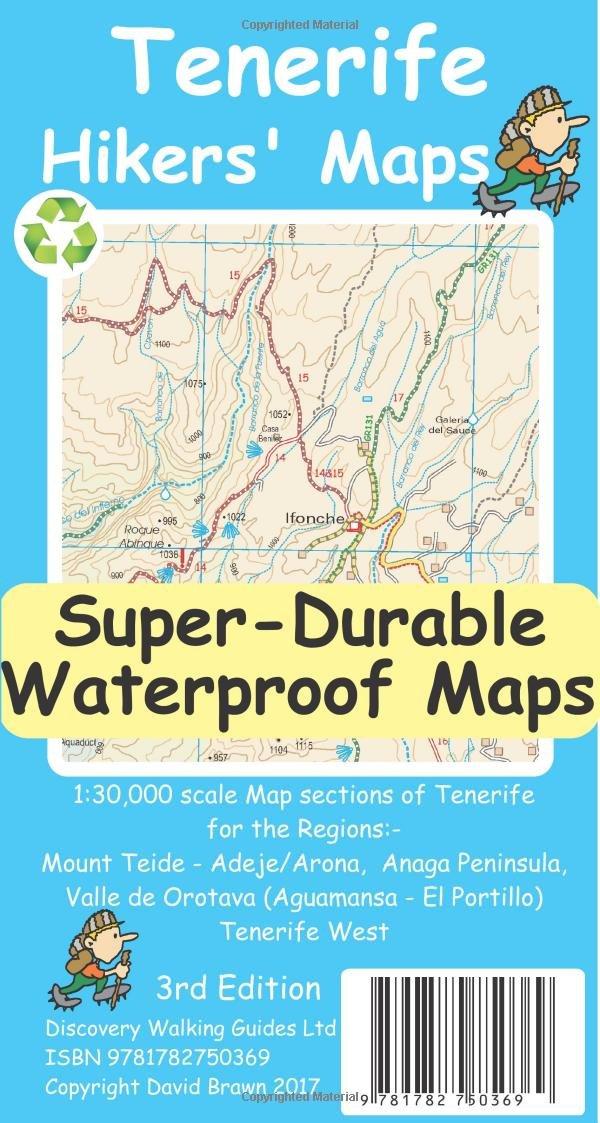 Tenerife Hikers Maps: Amazon.de: David Brawn: Fremdsprachige ...