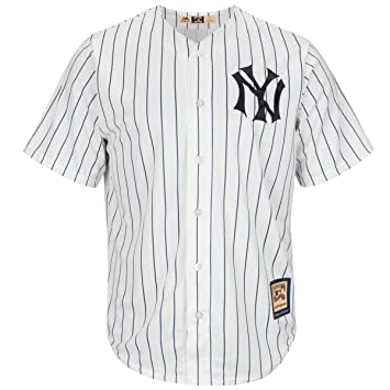 best loved 2e538 d14dd Et Maillot Amazon fr Sports York Pinstripe Replica Mantle ...