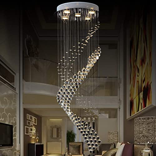 JEUNEU Modern Royal Crystal Chandelier K9 Raindrop Ceiling Light