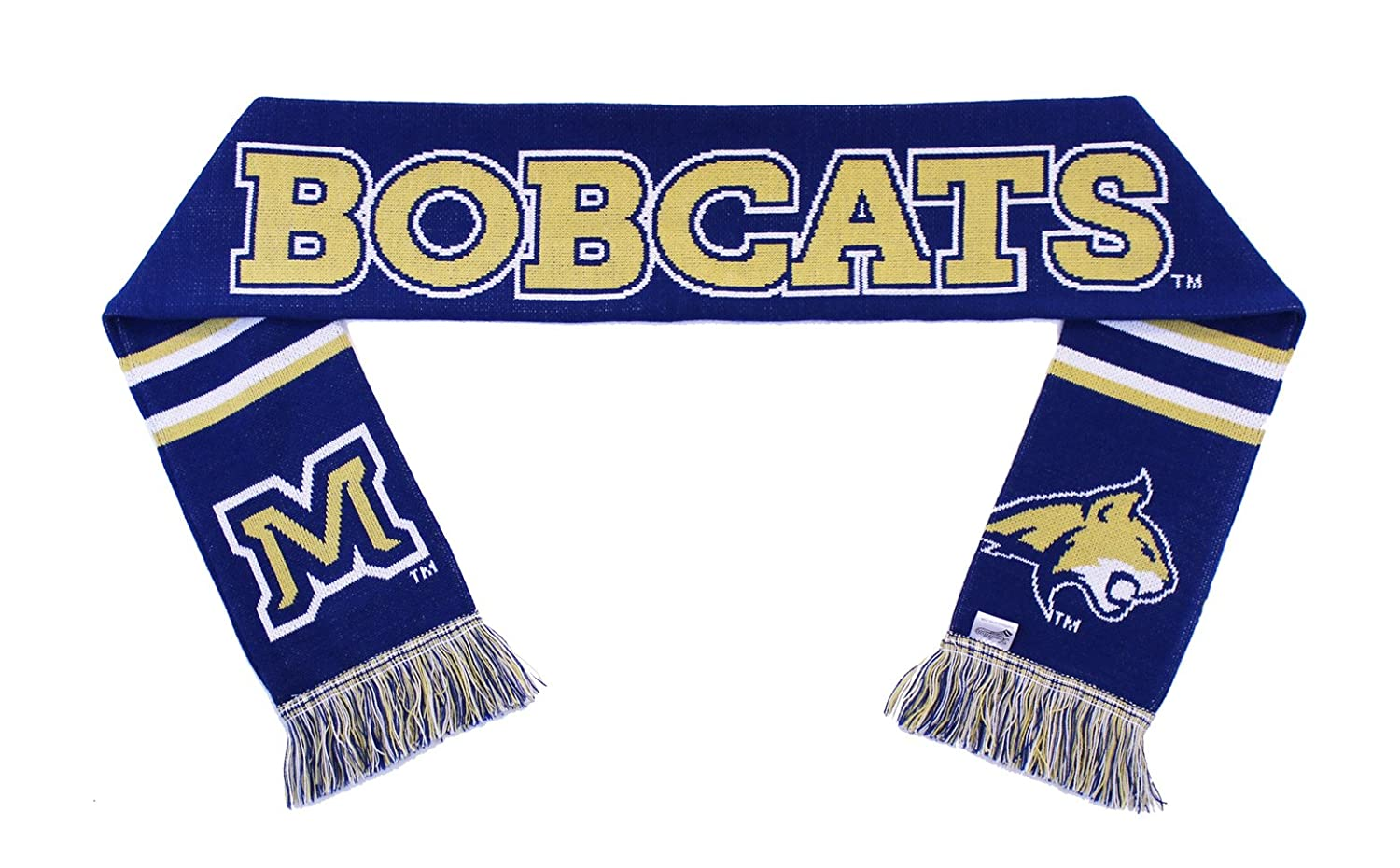 Montana State Bobcats Classic Knitted Tradition Scarves Montana State Scarf