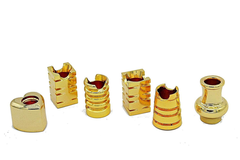Gold greehome Glutkiller f/ür Aschenbecher Glutt/öter Glutl/öscher Kippent/öter Metall 6er Set