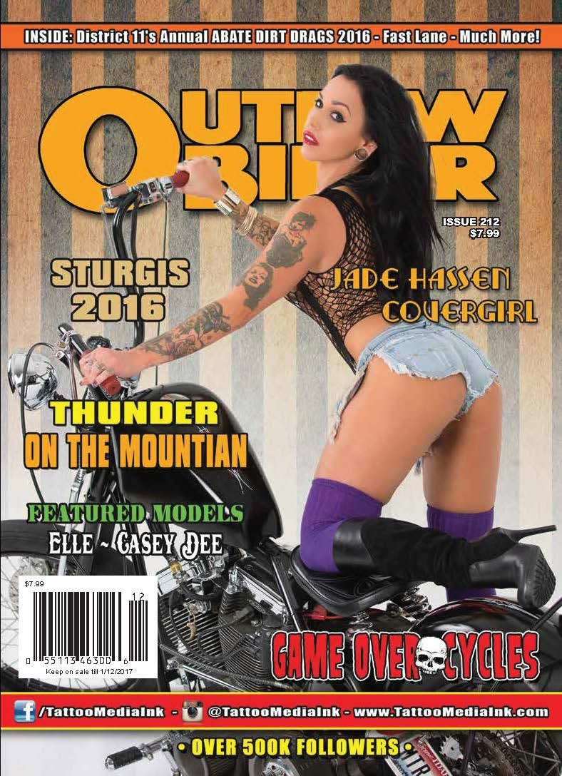 Download Outlaw Biker Magazine Issue 212 pdf epub