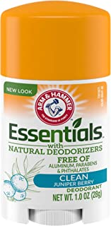 product image for ARM & HAMMER Essentials Deodorant with Natural Deodorizers Clean, 1.0 oz.