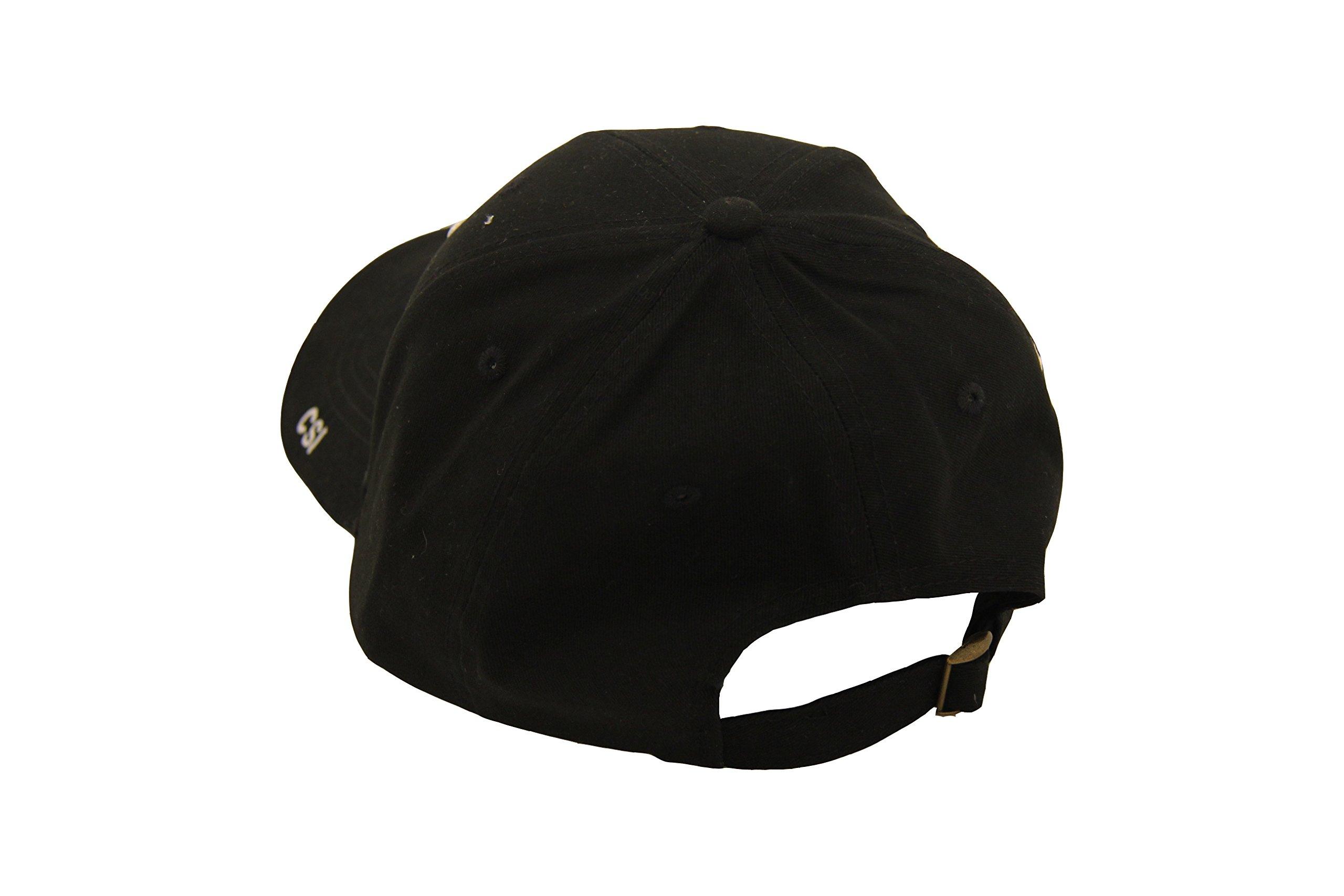CSI Crime Scene Investigation Logo Adult Strapback Hat by CSI (Image #2)