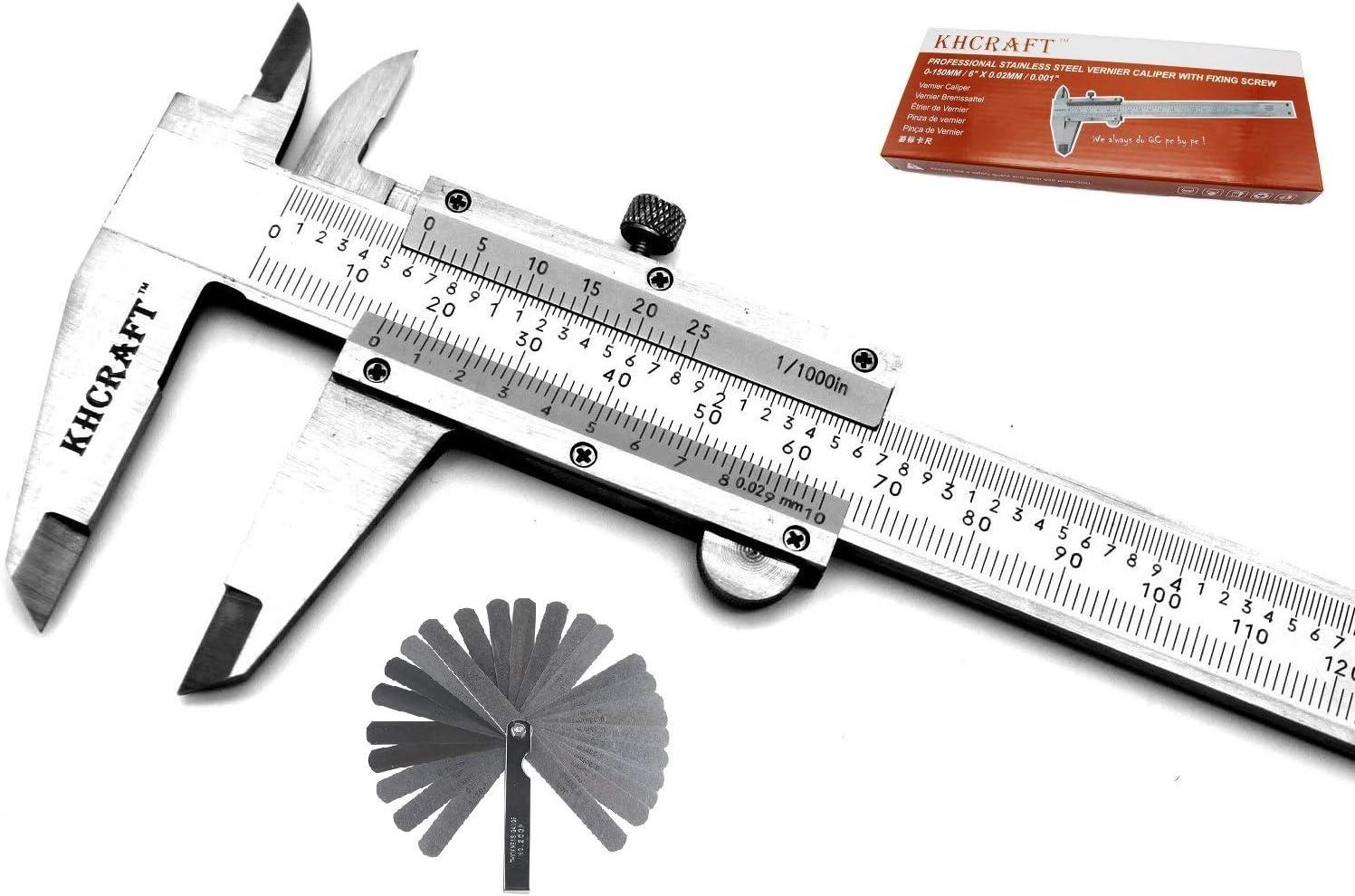 """0.001/""""//0.02mm Graduation 12 Inch Hardened Stainless Steel Vernier Caliper"""