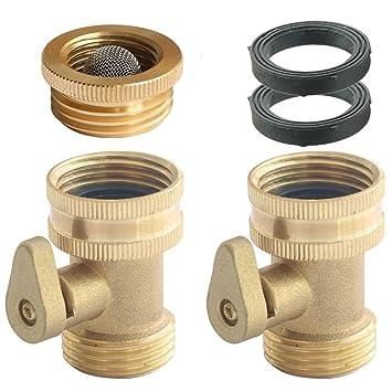 garden hose shut off valve. Solid Brass Water Hose Shut-Off Valve Garden Shut Off