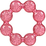 Nuby Pur Ice Bite Soother Ring Teether, Pink