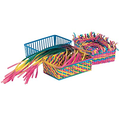 "Roylco R16003 Weaving Baskets, 2.5"" Height, 4.5"" Width, 6.5"" Length (Pack of 12): Industrial & Scientific"