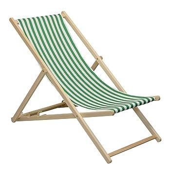 Liegestuhl design  Liegestuhl für den Garten/Strand - traditionelles Design ...