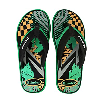 c800575c4ad Blinder Fabrication Cushion Slipper and Flip-Flop for Men On Amazon ...