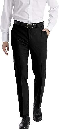 CALVIN KLEIN Men's X Performance Slim Fit Flat Front Dress Pant