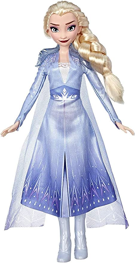 "Disney Frozen 2 Elsa Barbie Doll 12/"" FIGURE OUT OF ORIGINAL BOX"