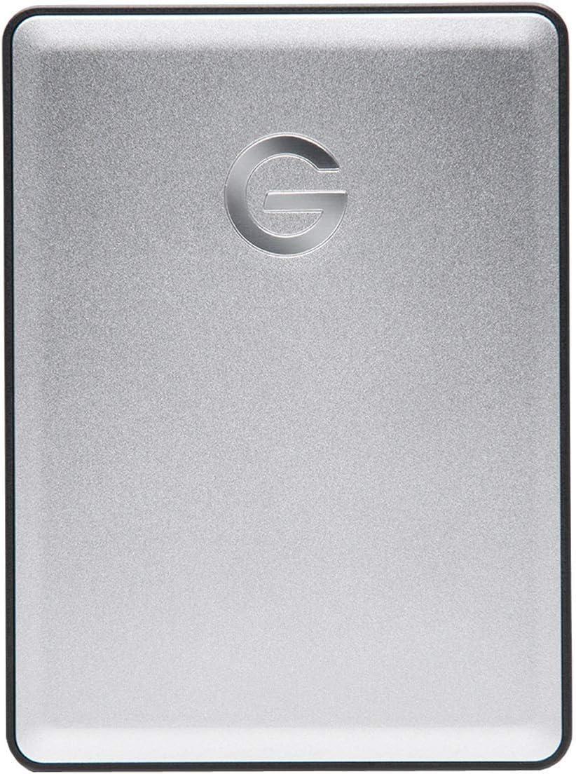 G-Technology 1TB G-DRIVE Mobile USB 3.0 Portable External Hard Drive, Silver - 0G06071