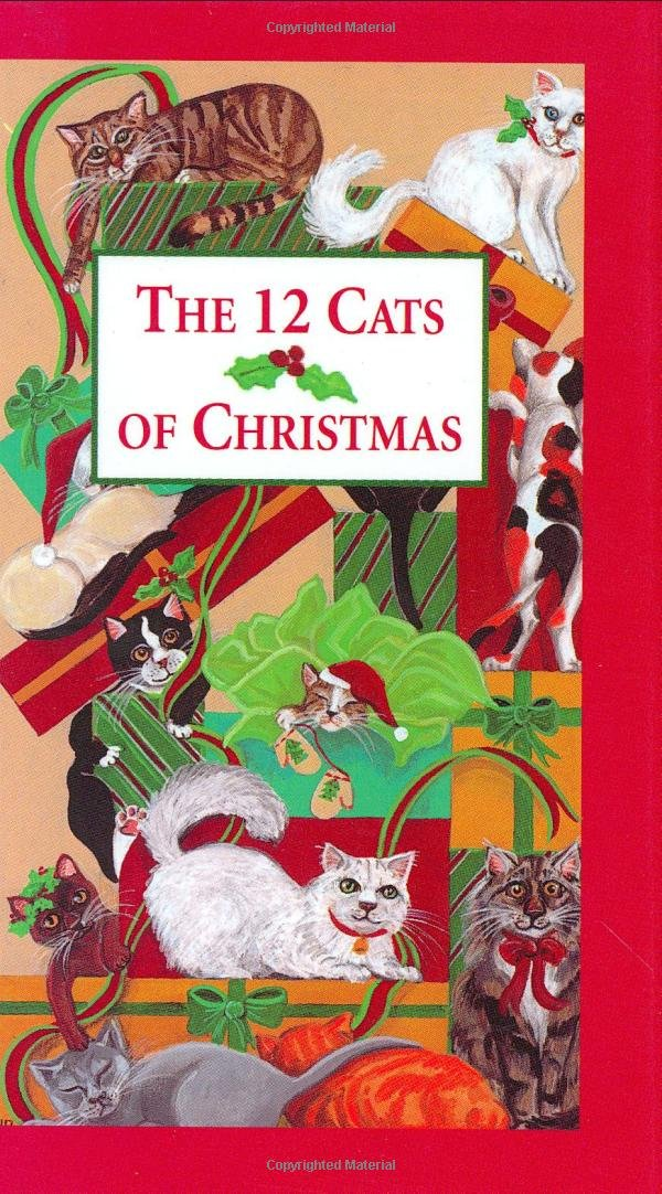 The 12 Cats of Christmas (Mini Books) (Pocket Gold)