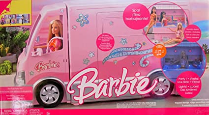 Amazon.com: Barbie Hot Tub Party camión Vehículo ...