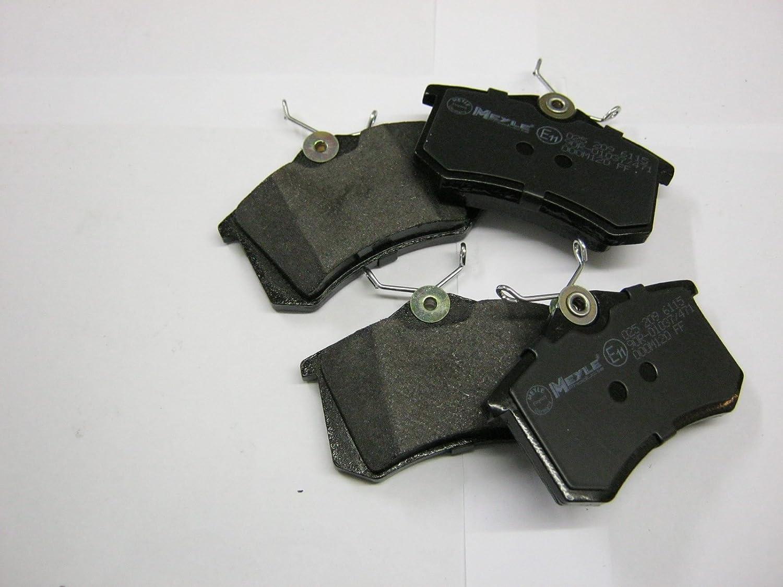 Meyle 025 216 9416//W Brake Pad Set disc brake