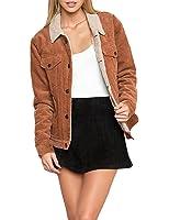 Woolrich Women's Kinsdale Corduroy Jacket, Atlantic, X-Small at Amazon Women's Coats Shop