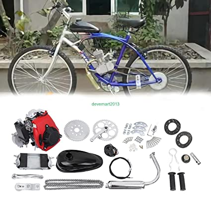 5bbb7505e52 Amazon.com : 49cc 4-Stroke Cycle Engine Motor Kit Motorized Bike ...