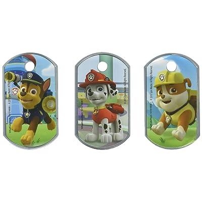 Nick Jr Paw Patrol Dog Tags - Set of 3: Toys & Games