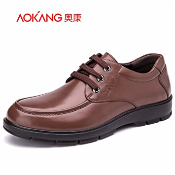 Aemember Chaussures pour hommes chaussures pour hommes Costumes Portez des chaussures Chaussures hommes populaires Brown ,43,